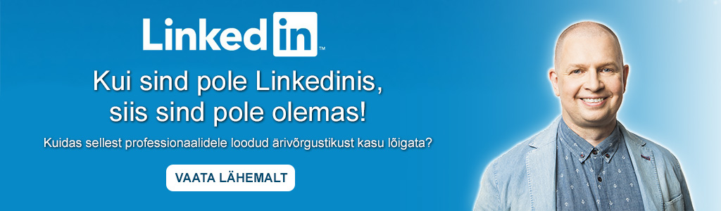 LinkedIn koolitus firmaleht